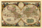"003 Old World Map - 36""x24"" Poster"