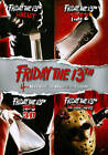Friday the 13th: 4-Movie Collection (DVD, 2013, 4-Disc Set) SEALED!