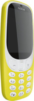 Artikelbild Nokia 3310 Handy 6,1cm/2,4 QVGA Display 2MP (Gelb)