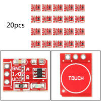 20PCS TTP223 Capacitive Touch Switch Button Self-Lock Module for Arduino