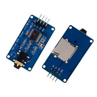 YX 5300 MP3 Music Player Module UART TTL Serial for MP3/WAV Micro SD/SDHC Card