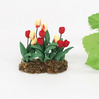 Green Plant  Model Play Toys Garden Patio Decoration with Clayl Material * 1