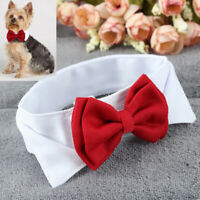 Fashion Adjustable Bow Tie Collar Necktie Bowknot Clothes For Pet Dog  NUI