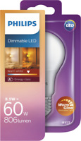 Artikelbild Philips LED 60W A60 E27 WW FR WGD 1BC/4, dimmbar