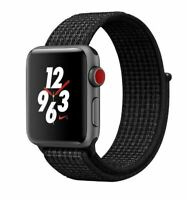 Artikelbild APPLE WATCH NIKE+ CELL 38MM SPACE GREY ALU SMARTWATCH NEU&OVP!