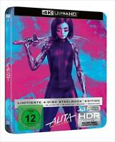 Artikelbild 4K Ultra HD + Blu-Ray + 3D Limitierte Steelbook Alita: Battle Angel *Neu/OVP*
