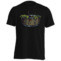 Zombie Drum Funny Music Crazy Gift Men's T-Shirt/Tank Top d772m