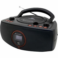 Artikelbild Soundmaster SCD1500 CD Player Radio Tragbar AUX-In USB Schwarz