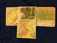 1889 Arbuckle Bros Coffee Trade Card Choice You U Pick State Maps