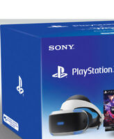 Artikelbild SONY PlayStation VR + Camera + Worlds Voucher Virtual Reality Brille AUSSTELLER