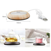 USB Warm Cup Heating Mat Warm Pad Electric Insulation Coaster for Coffee Tea