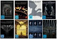 Artikelbild Game of Thrones Staffel 1+2+3+4+5+6+7+8 | Komplett | DVD | Staffel 1-8 | NEU
