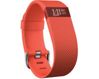 Artikelbild FITBIT Charge HR Small, Activity-Tracker, Orange