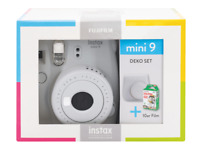 Artikelbild FUJIFILM Instax Mini 9 Travel Set Sofortbildkamera, Smoky White NEU & OVP