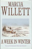 A Week in Winter - Marcia Willett - First Edition First Printing - SIGNED - G...