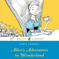 Alices Adventures in Wonderland by Lewis Carroll (Hardcover) CD***NEW***