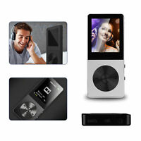 Up to 128GB MP3 Music Player One-Key Voice Recorder FM Radio 40 Hours +Headphone