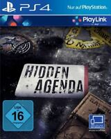 Artikelbild PS4 HIDDEN AGENDA PLAYLINK NEU OVP