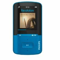 "Artikelbild Philips SA4VBE04BN/12 Video-Player 4GB 1,8"" USB 2.0 Lagunenblau/Schwarz"