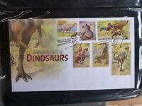 AUSTRALIA 2013 AGE OF DINOSAURS SET 6 STAMPS FDC FIRST DAY COVER