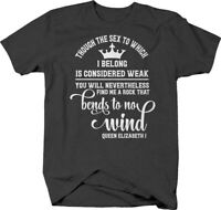 You will find me a rock that bends to no wind Queen Elizabeth I T Shirt for Men