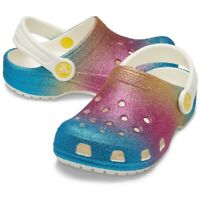 Crocs Classic Ombre Glitter Clog K Kids Clogs | Slippers | garden shoes - NEW