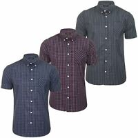 Brave Soul 'Berlioz' Mens Short Sleeved Check Shirt