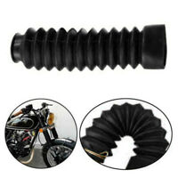 2* Universal Motorcycle Front Fork Shock Boots Dust Cover Protector new