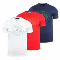 Duck & Cover Quoins Mens T Shirt Cotton Graphic Crew Neck Short Sleeve Tee