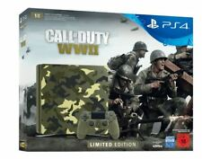 Artikelbild SONY PlayStation 4 1TB Green Camouflage Call of Duty WWII Ltd. Edition
