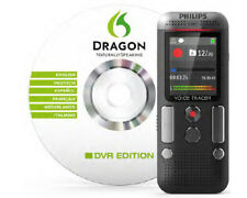 Artikelbild PHILIPS DVT27515 STEREO digitales Diktiergerät DRAGON Software NEU OVP