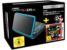 Artikelbild NINTENDO New 2DS XL schwarz türkis + Luigi Mansion 2 Premium Edition