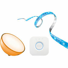 Artikelbild PHILIPS Hue Bundle / Bridge + LED Lightstrip Plus Starter-Kit 2m + Hue Go / NEU