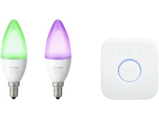 Artikelbild PHILIPS Hue Doppelpack LED E14 White Ambiance Color EEK A+ Bridge