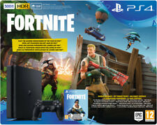 Artikelbild SONY PlayStation 4 500 GB Schwarz + Fortnite Royal Bomber Pack Voucher