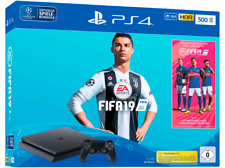 Artikelbild SONY PS4™ 500GB Jet Black / EA Sports Fifa 19-Bundle