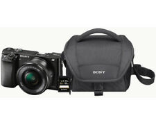 Artikelbild SONY Alpha 6000 Kit Systemkamera 24.7 MP, 16-50mm + 55-210mm NEU OVP