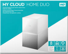 Artikelbild WD Western Digital My Cloud™ Home Duo, 8 TB, 3.5 Zoll, NAS, Weiß