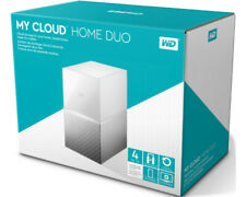 Artikelbild WD Western Digital My Cloud Home Duo 4TB WEISS Gigabit LAN, USB