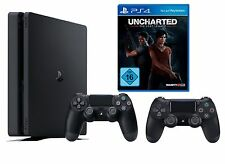 Artikelbild SONY PlayStation 4 Slim 1TB inkl. 2. Controller + Uncharted: The Lost Legacy NEU