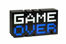 Artikelbild Game Over 8 Bit Gaming LED Lampe Mehrfarbige Farbwechsel Funktion