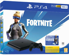 Artikelbild SONY PS4 500GB Jet Black: Fortnite Neo Versa Bundle Playstation 4 Konsole