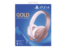 Artikelbild SONY PS4 Wireless-Headset Rose Gold Edition Gaming Headset, Roségold