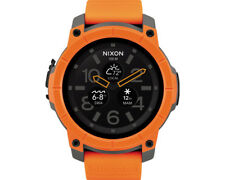 Artikelbild NIXON Smartwatch Mission wasserdicht stoßfest orange Bluetooth iOS Android
