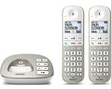 Artikelbild PHILIPS XL 4952S/38 Beige Duo Set Anrufbeantworter Senioren Telefon