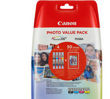 Artikelbild CANON TINTENPATRONE CLI 521 PHOTO VALUE PACK