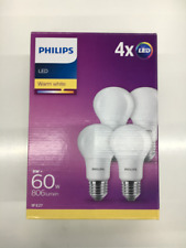 Artikelbild PHILIPS 88380 LED 60W A60 E27 WW 230V FR ND - 4er Pack