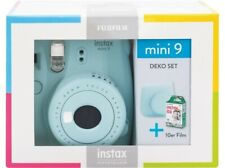 Artikelbild FUJIFILM Instax Mini 9 Travel Set Sofortbildkamera, Ice Blue (NEU) OVP