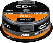 Artikelbild Intenso CD-R 700MB Printable 25er NEU & OVP