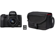 Artikelbild Canon EOS M50 Travel Kit 15-45mm Kit,4K Video, Sucher,Dual PixelAF,neu